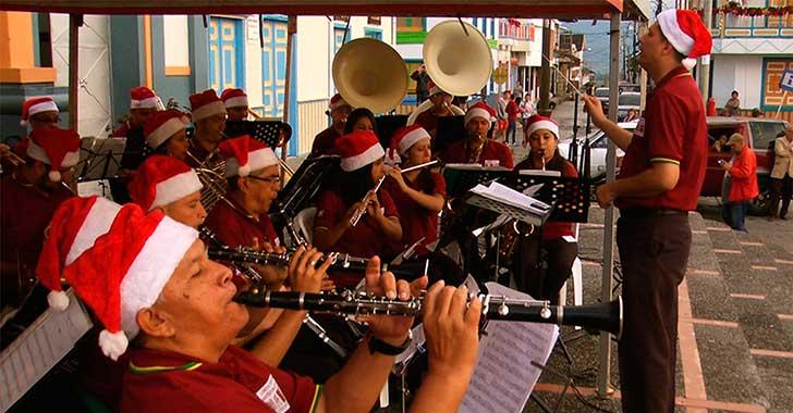 El concierto navideño recorre todo el Quindío