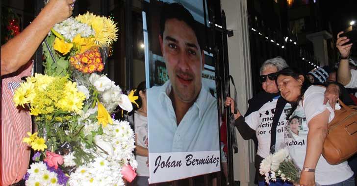 En bici - protesta rindieron homenaje a ciclista muerto