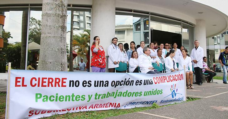 120 funcionarios de Cafesalud retomaron sus labores en el Quindío