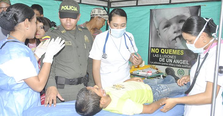 Quindío reportó 23 quemados con pólvora en las festividades