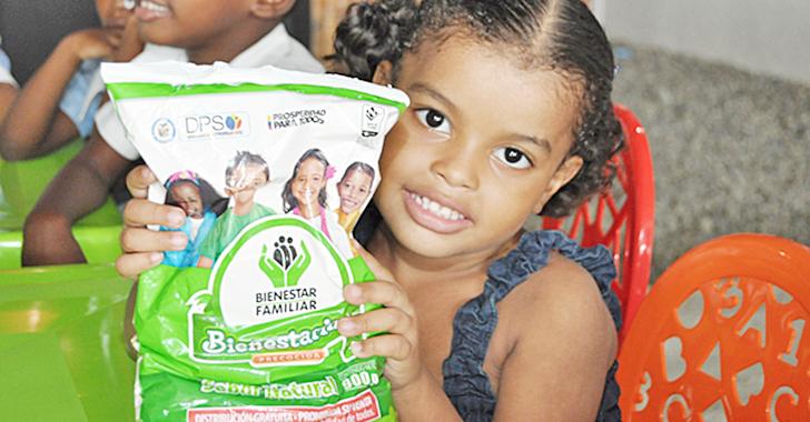 Icbf entregó 20.000 toneladas de bienestarina
