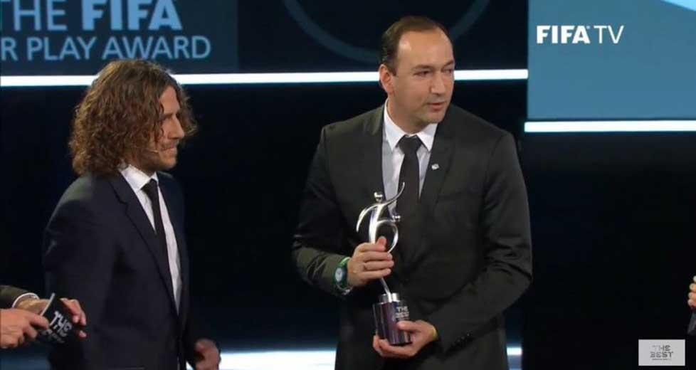 Atlético Nacional recibió el Premio al Juego Limpio