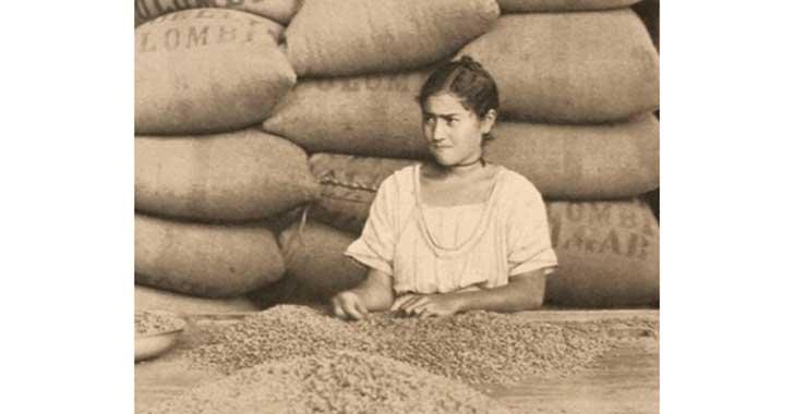 Protesta de las mujeres quindianas vinculadas al café en la década del 20