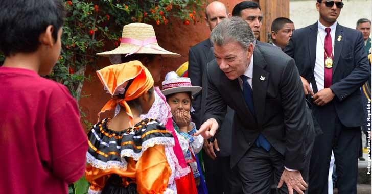 Presidente Santos aboga por una mayor integración entre Colombia y Perú