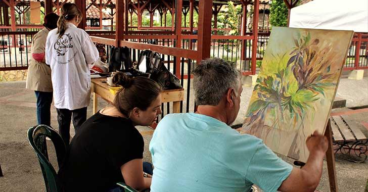 Con 25 muestras se clausurará hoy taller de arte de maestro mexicano