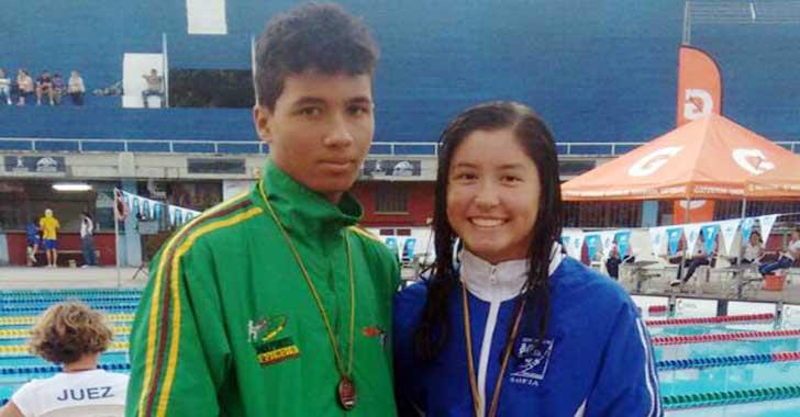 En Súper Copa Cafetera, Brandon Ramírez y Sofía García ganaron medallas para Quindío