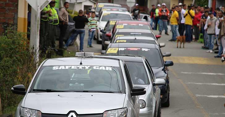 Con Trepadores 2017, el automovilismo tomó fuerza en el Quindío
