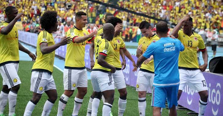 En fotos: Postales de la victoria de Colombia frente a Bolivia