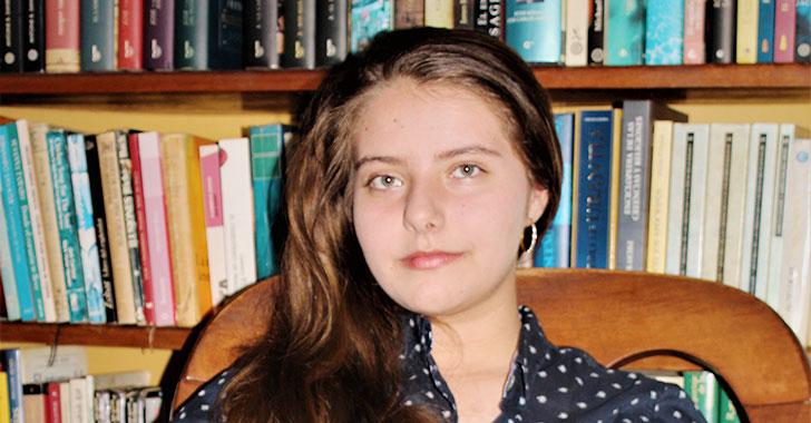 Verónica Jaramillo Rodríguez, la escritora quindiana de 15 años
