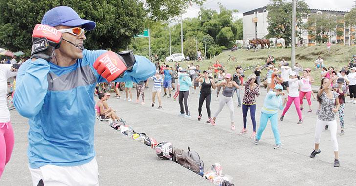 Imdera invitó a la comunidad a ejercitarse y disfrutar en las ciclovías dominicales