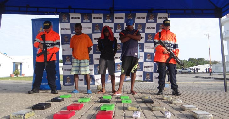 Armada incautó 1,38 toneladas de cocaína con destino a Centroamérica