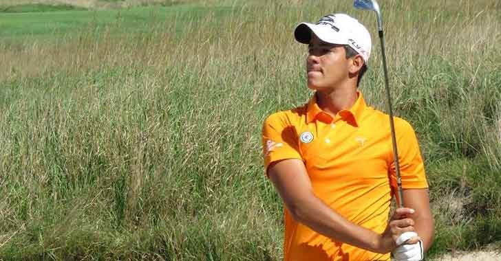 Colombia empezó cuarto el internacional aficionado de golf