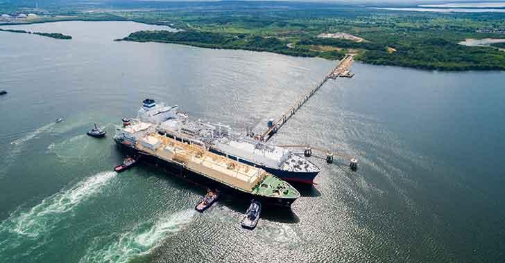 Spec LNG, con capacidad de regasificar 400 millones de pies cúbicos por día