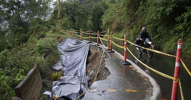 Alcalde de Salento adelantará estudios  y diseños para reparar la vía a Cocora