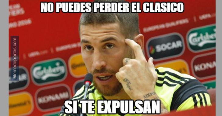 Los memes que dejó el clásico entre Real Madrid y Barcelona