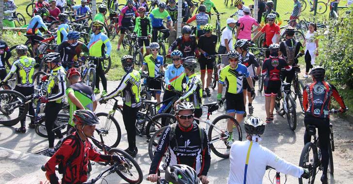 Inauguración del parque abierto de ciclomontañismo