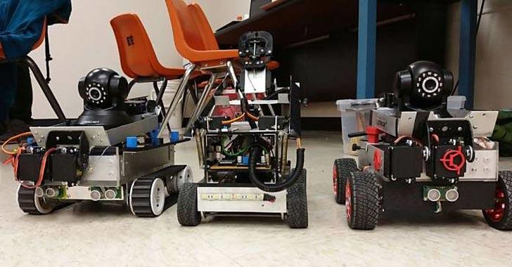 Robots colombianos ganan competencia en EE.UU.
