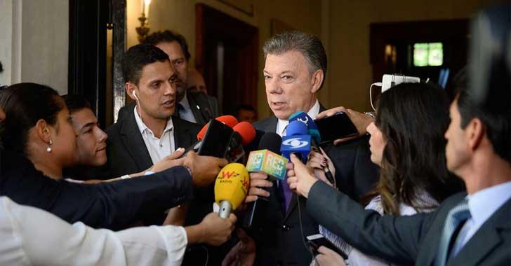 Santos dice fallo de Corte no afecta seguridad jurídica de acuerdo con Farc