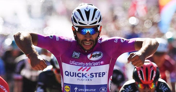 ¡Histórico! Fernando Gaviria es el primer colombiano en ganar cuatro etapas del Giro