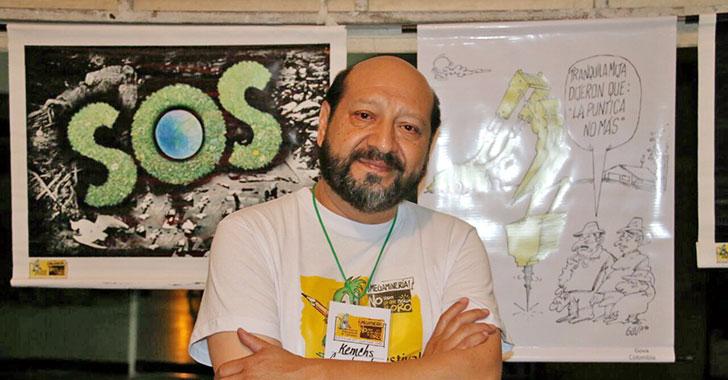 """Festival de caricatura, trabajo de calidad e impacto mundial"": Arturo Kemchs"