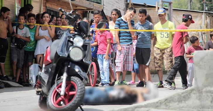 Joven fue asesinado este viernes en el barrio Santander de Armenia