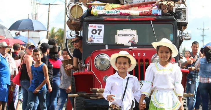 En fotos: Las mejores postales del desfile del Yipao en Calarcá