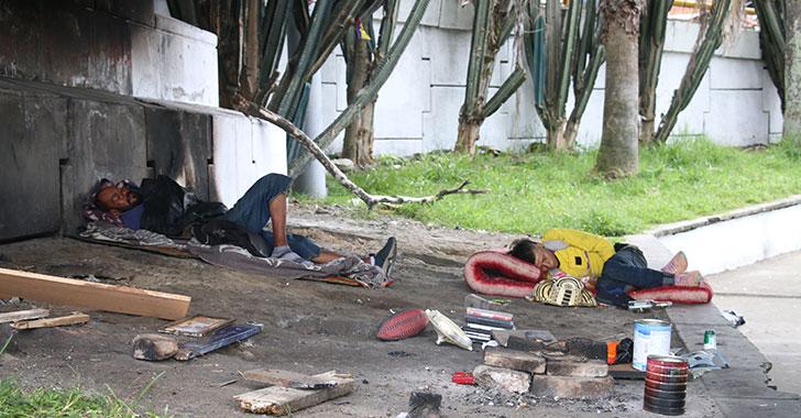 Basuras, indigencia y abandono en La Cejita y alrededores