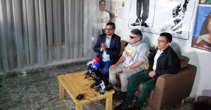 Farc, dispuesta a contar verdad de conflicto en Colombia para afianzar la paz