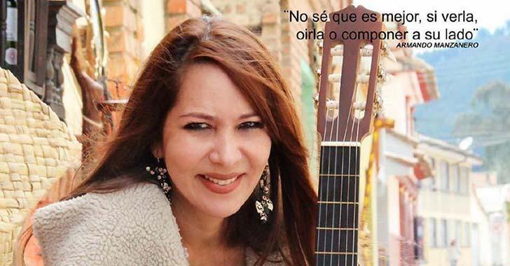 Cantautora Saavedra,  invitada a concierto de jazz en Armenia