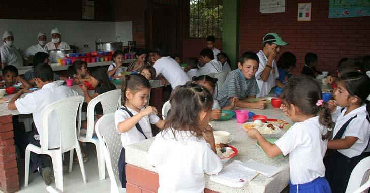 Alimentación Escolar en Colombia con inconvenientes;  en el Quindío, Suteq reitera quejas