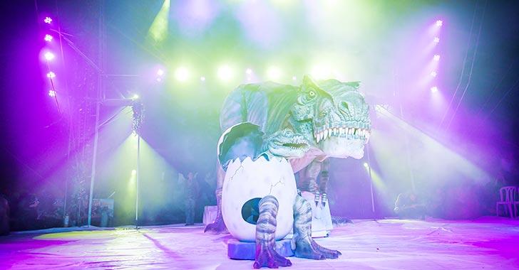 Desde este viernes, Circo Gigante de Dinosaurios en Armenia