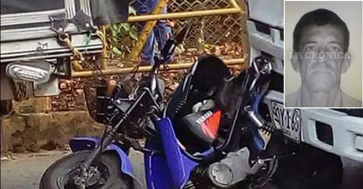 Fatal accidente de tránsito en Los Naranjos dejó un hombre muerto