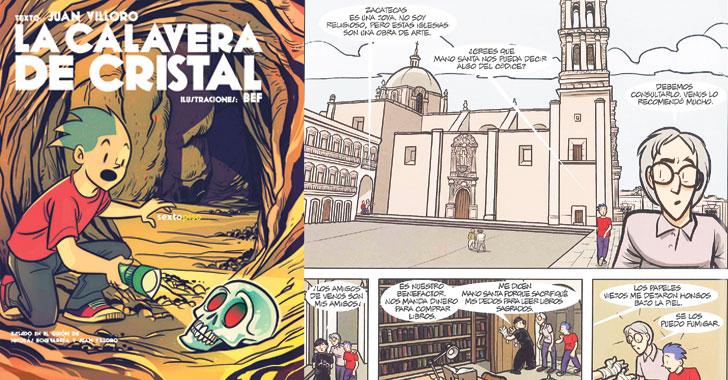 Un viaje al México ancestral  en viñetas