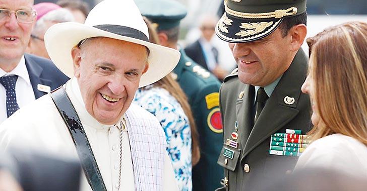 6,8 millones de personas presenciaron a Francisco durante su estadía en el país