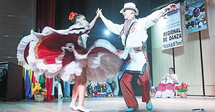 Ganadores de 'El bailarín de mi tierra' son calarqueños
