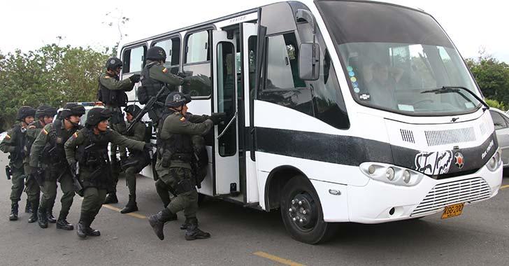 Grupo de Operaciones Especiales,  llega a reforzar seguridad en La Tebaida
