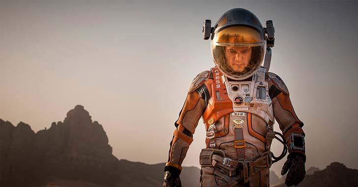 El marciano: Un botánico  espacial
