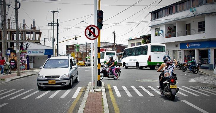 Intervención en semáforos averiados de Calarcá empezaría la próxima semana