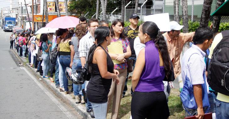 0,2% bajó el desempleo en Armenia para junio – agosto