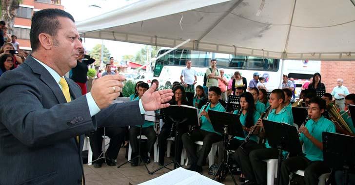 Tocancipá, tercer premio consecutivo de la Banda Sinfónica Juvenil de Armenia