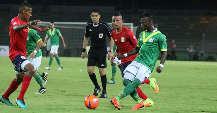 Quindío cayó en Barranquilla, el 'milagroso' perdió con tres goles en contra