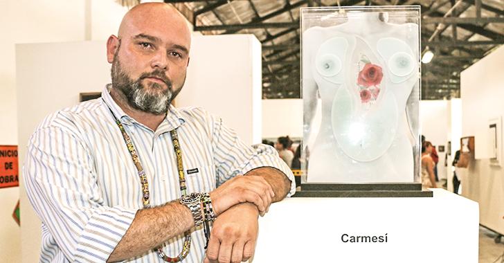 Jorge Urrea, ganador del XV Salón de artistas quindianos