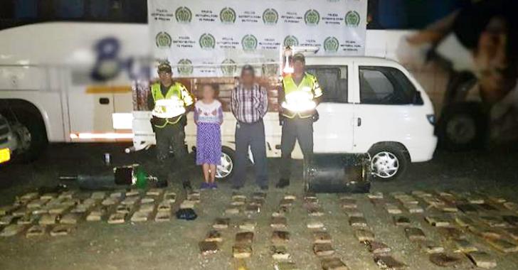 Adulto oriundo de Pijao y compañera capturados con carga de marihuana