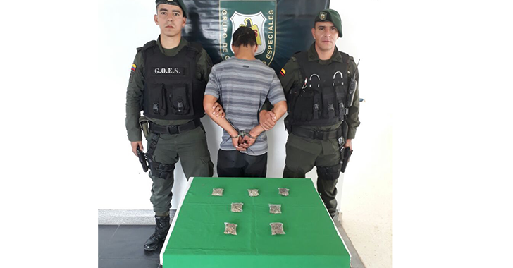 Detenido en La Tebaida con varias dosis de marihuana en su poder