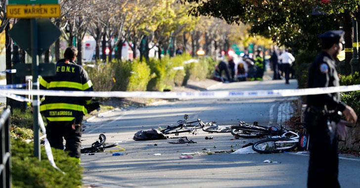 Terrorista mató a ocho personas en un atropello múltiple en Nueva York