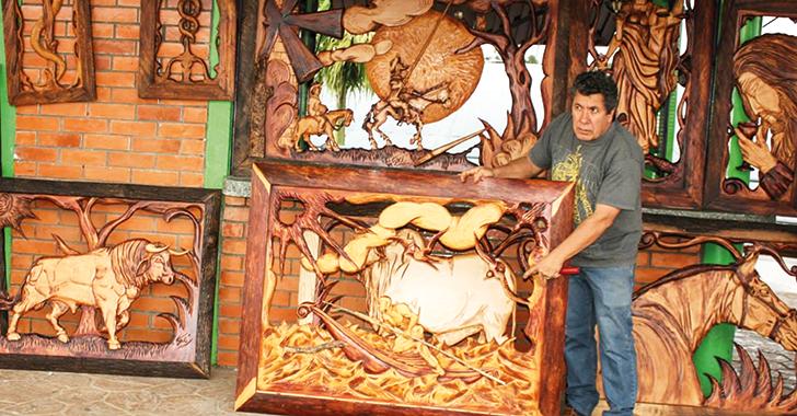 Ramón Díaz Jiménez, el tallador de Circasia