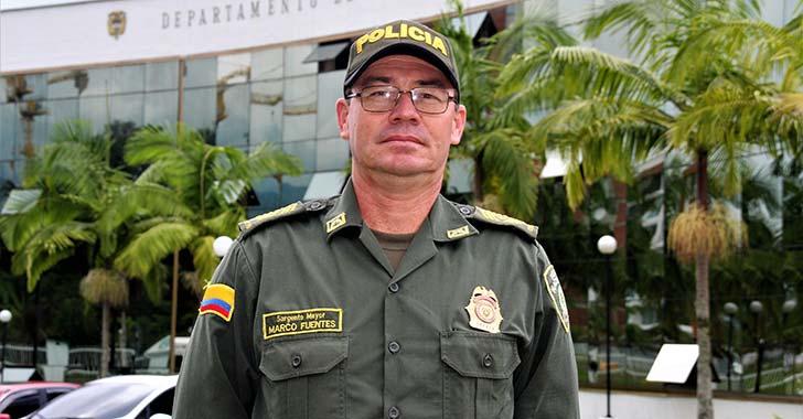 Sargento Mayor Marco Fuentes, celebra con orgullo los 126  años de la Policía Nacional