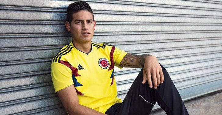 3fc5532895434 ¡Es oficial! Adidas presentó la nueva camiseta de la selección Colombia