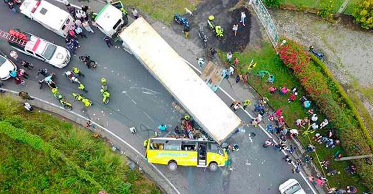 63 muertos se han reportado  en las vías del Quindío en 2017