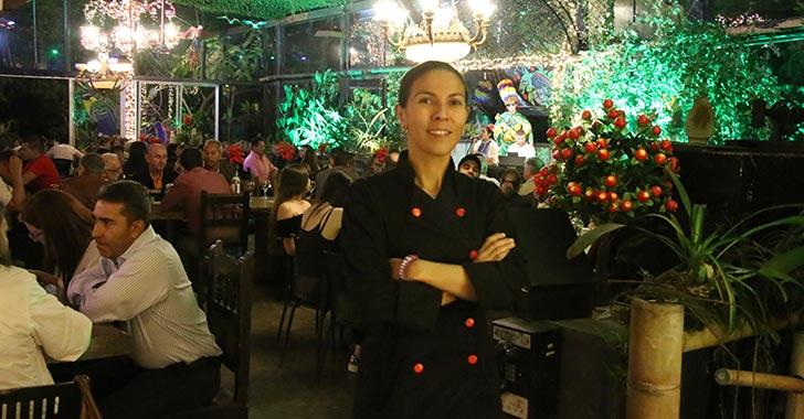 Típicamente colombiana, nueva carta del restaurante Naxos